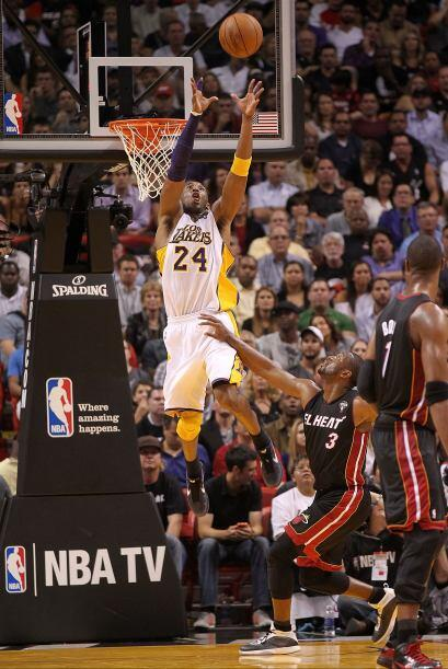 3. De los L.A. Lakers, el guardia veterano Kobe Bryant.