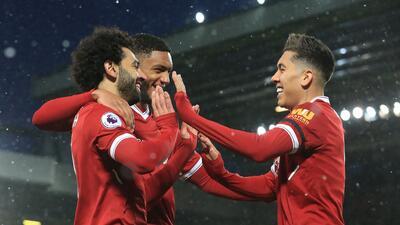 Un letal Salah se despachó con cuatro goles para golear al Watford