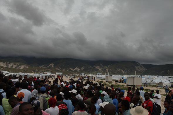 En la capital del país, los refugiados no hicieron caso a los llamados p...