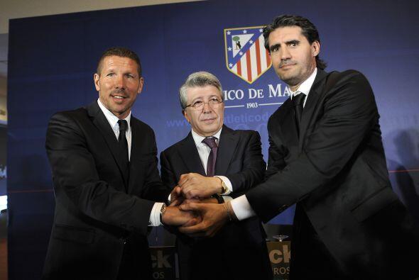 Diego Pablo Simeone cumplió 1000 días como entrenador del Atlético de Ma...