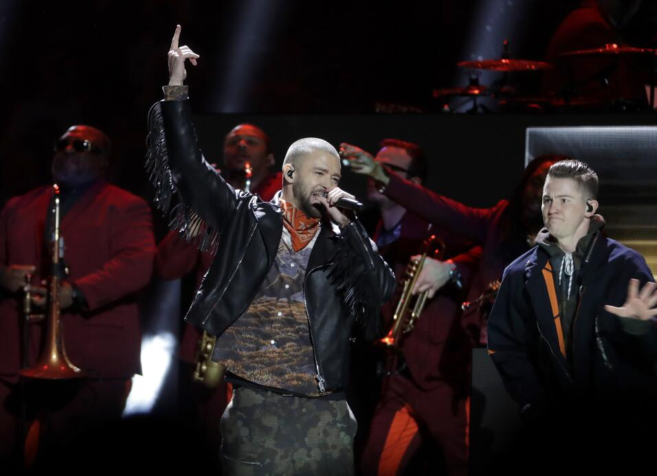 'Half Time Shows' Super Bowl 2018 Justin Timberlake