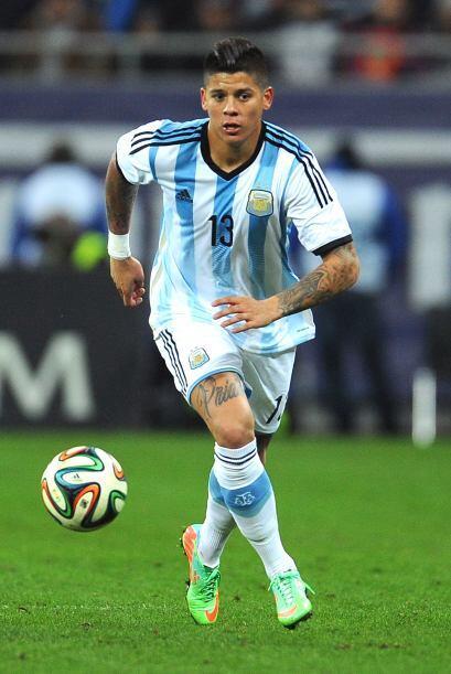 El Argentino Marcos Rojo es opción para la Juventus de Turín.