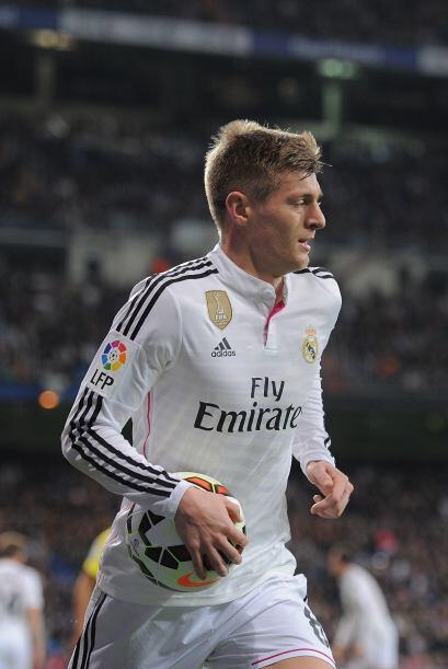Kroos (6): Notó en el terreno de juego el descanso que tuvo tras no juga...