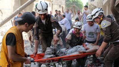 La carnicería continúa en Alepo pese a una tregua.