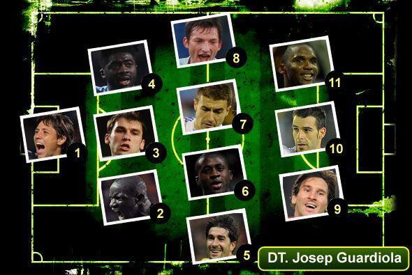 Una vez más, Univisionfutbol.com te presenta el 11 ideal del f&ua...