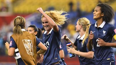 El equipo francés jugará los cuartos de final ante Alemania.