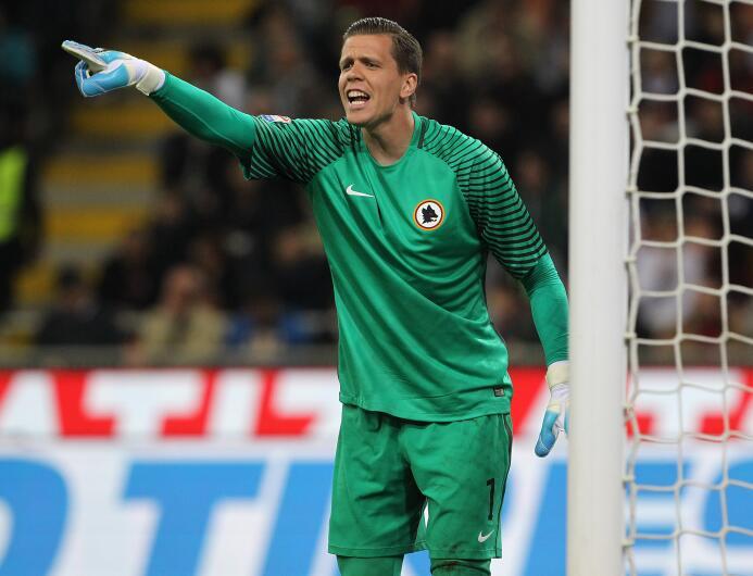 Wojciech Szczesny ha dado muestras de calidad en la Roma, donde juega a...