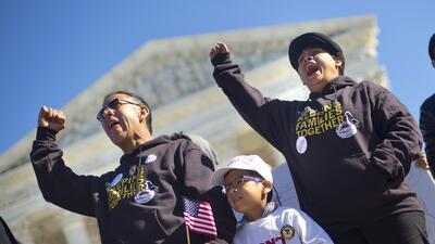 Activistas pro-indocumentados en Washington