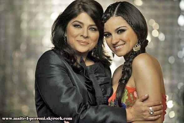 """En """"Triunfo Del Amor"""" Victoria Ruffo participó al lado de Maite Perroni."""