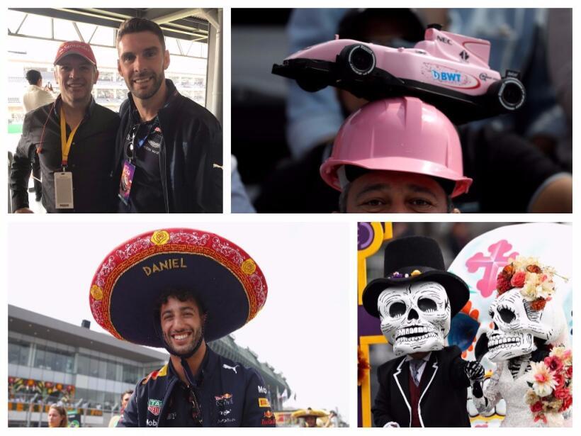 Lewis Hamilton, campeón de la Fórmula 1 tras Gran Premio de México color...