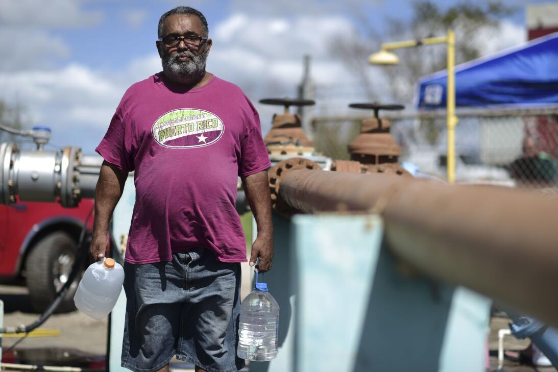 Miles de puertorriqueños se fueron de la isla tras el paso del huracán M...
