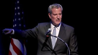 Alcalde Bill de Blasio presenta plan para mejorar la seguridad en las escuelas de Nueva York