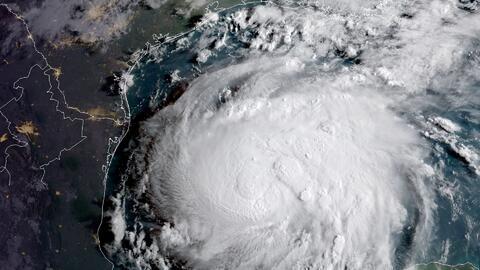 Impacto del huracán Harvey podría ser más fuerte de Port Mansfield a Sar...