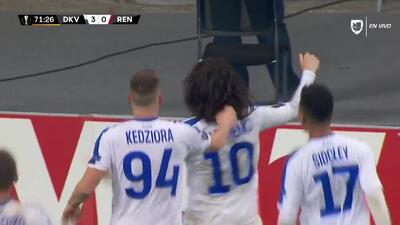 ¡GOOOL! Mykola Shaparenko anota para Dynamo Kyiv