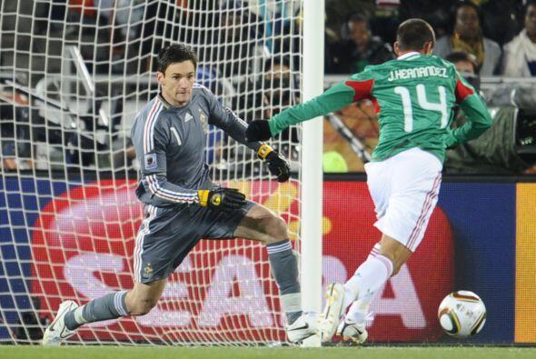 El  momento soñado de cualquier jugador es marcar un gol en un Mundial....
