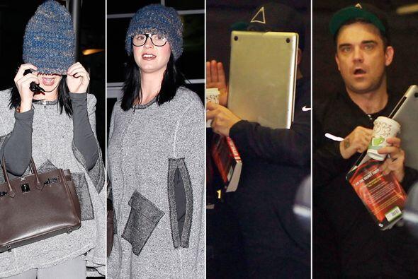 Las celebridades no siempre están de humor para ser retratadas por los p...