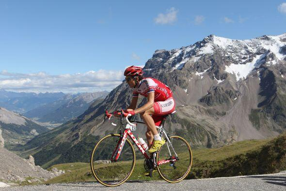 El maillot blanco al mejor joven clasificado fue para Rein Taaramae.