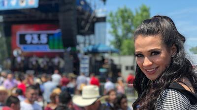 Carla Medrano acaparó todas las miradas en las Fiestas de Mayo de Chicago
