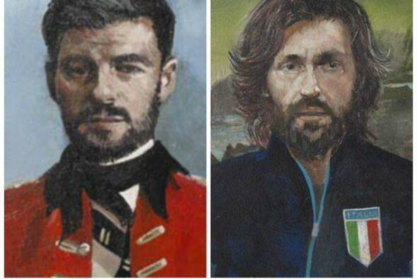 El artista británico John Myatt inmortalizó a algunos de l...