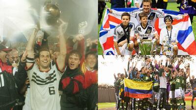 Las celebraciones de los 20 campeones en la historia de la MLS