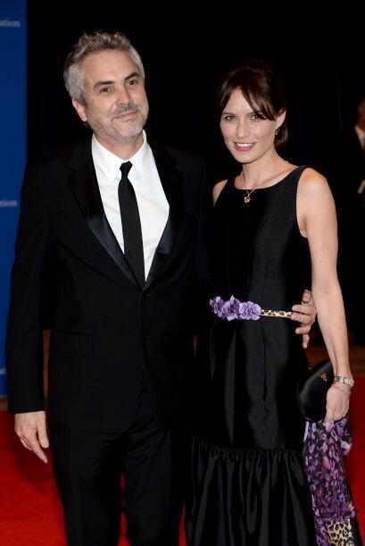 Alfonso Cuarón fue con su pareja, Sherezade Goldsmith. Mira aqu&i...