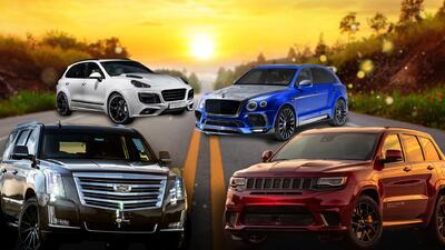 Todoterrenos a toda velocidad: siete camionetas SUV con más de 700 caballos de fuerza