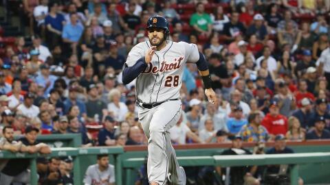 El cubano J.D. Martínez llegó a Boston en un canje con los...