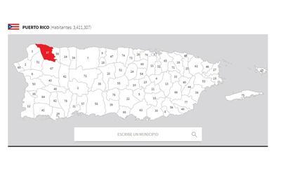 puerto rico mapa isabela