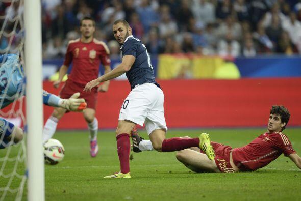 Francia se impuso 1-0 a España.