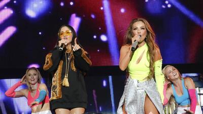 Thalía y Natti Natasha: ni los problemas técnicos las detuvieron de ser #LasQueMandan