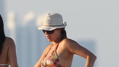 #WCW Mira a Alicia Machado en bikini