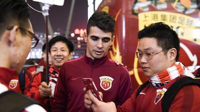 La fiebre compradora del fútbol chino, ¿próxima a su final?