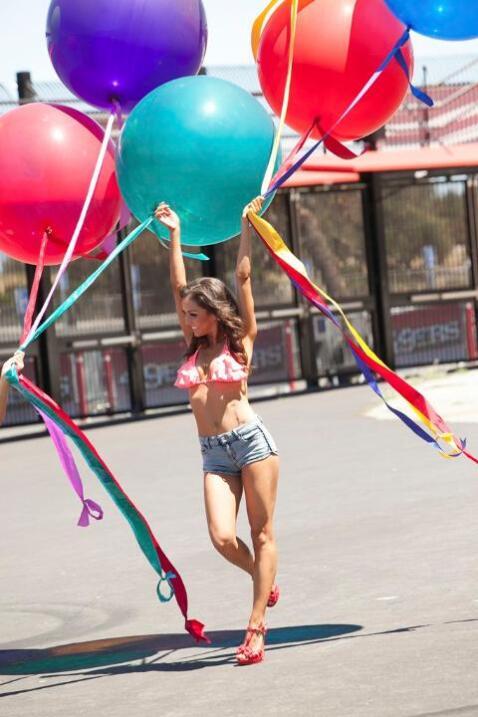 Si así estan las fotos del shooting del Calendario de las cheerleaders d...
