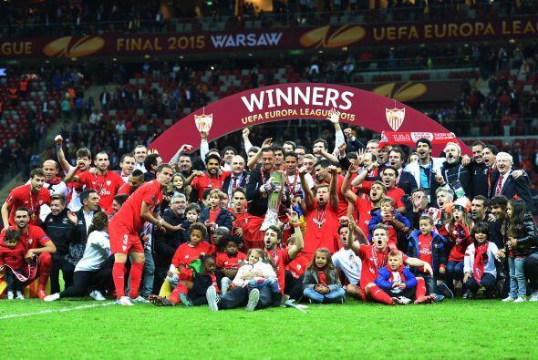 Ahora el Sevilla disputará la Champions League.