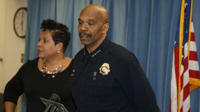 Robert White, jefe de policía de Denver.