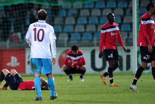El empate sin goles significó la eliminación para ambos.