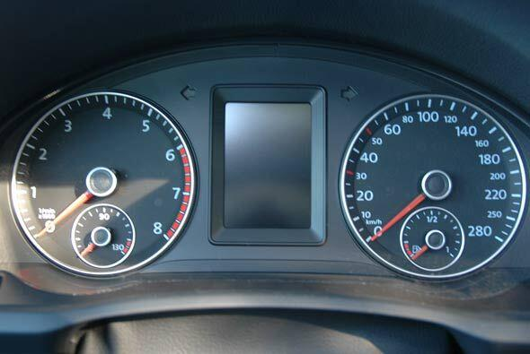El diseño del interior es netamente Volkswagen en todos lados.