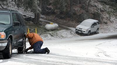 Alerta de frente frío y fuertes vientos en California