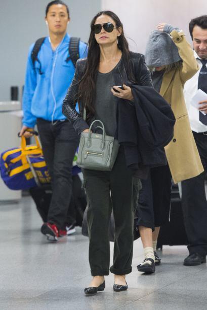 Demi y Tallulah se dirigirían a su apartamento de Manhattan para reunirs...