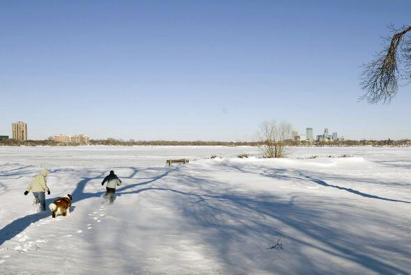 En Minneapolis se registraron bajísimas temperaturas después de las inte...