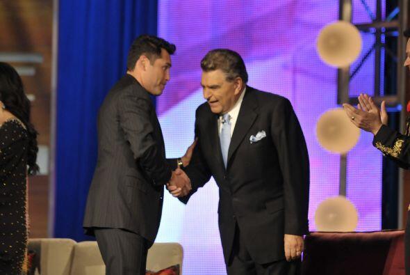 Esta no es la primera vez que Don Francisco compite por un TVyNovelas.