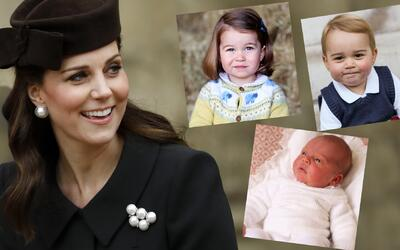 Kate Middleton, George, Charlotte, Louis