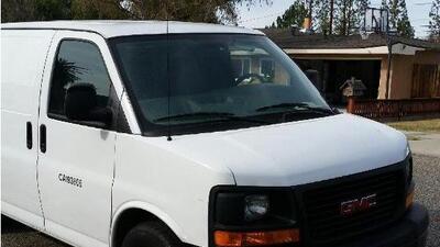 Camioneta robada por los fugitivos