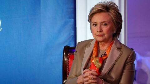 La excandidata presidencial Hillary Clinton en un evento de la Women for...