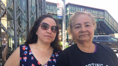 Blanca Lima, a la izquierda, y Zoila Martínez, a la derecha, han vivido...