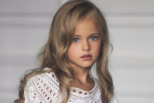 Ella es Kristina Pimenova, una súper modelo de tan sólo nueve años nacid...