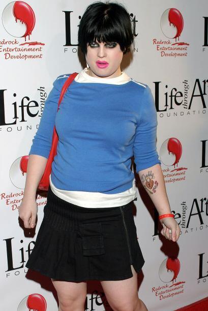 Kelly Osbourne no tuvo una adolescencia sencilla, su peso no la dejaba s...