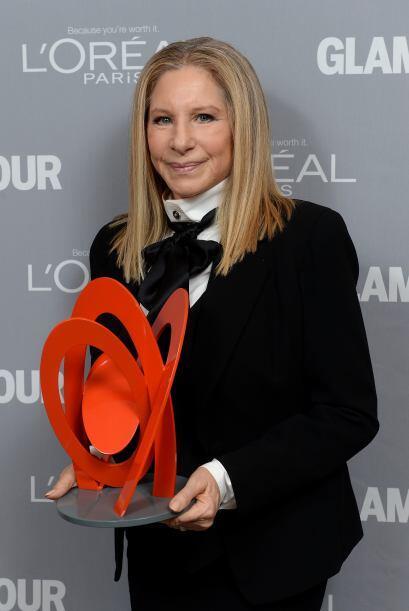 Barbra Streisand fue una de las galardonadas de la noche.