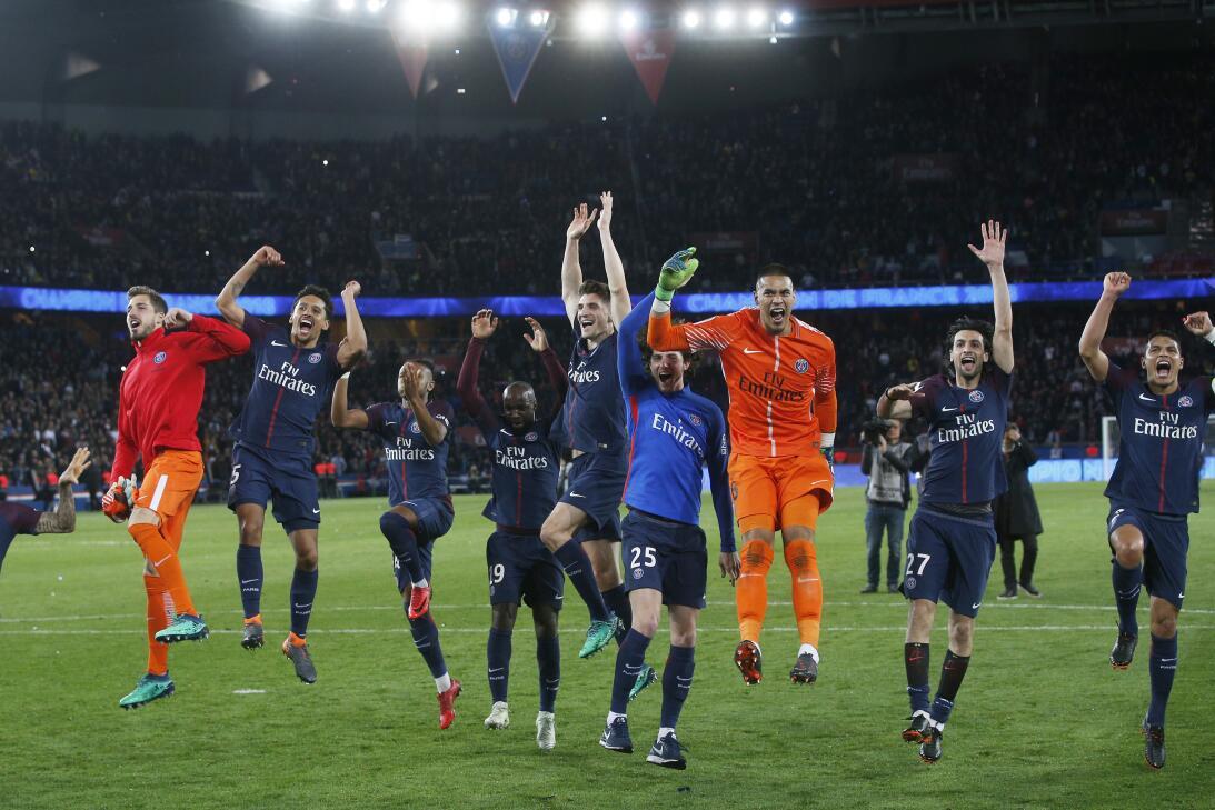 Fiesta de locos en el título del París Saint Germain como campeón en Fra...