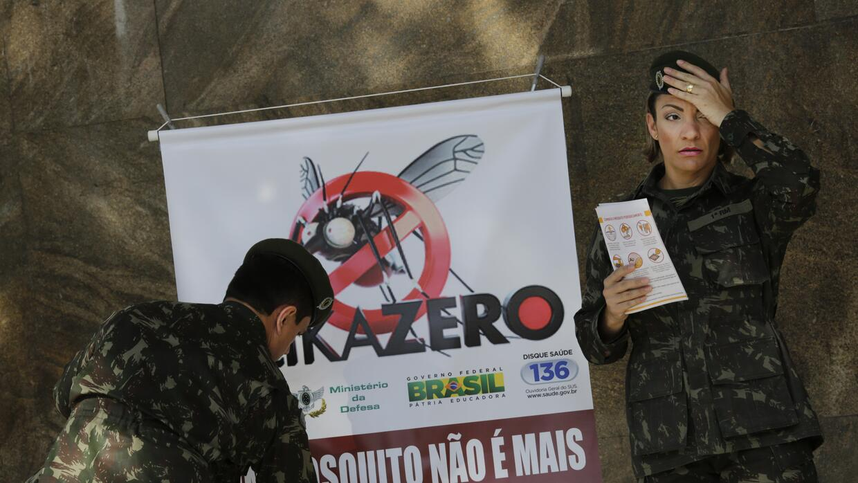 Brasil es el país más golpeado por el zika con 583 casos confirmados de...